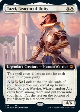 Tazri, Beacon of Unity - Extended Art