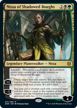 Nissa of Shadowed Boughs - Foil
