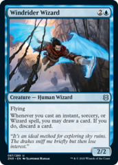 Windrider Wizard - Foil