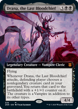 Drana, the Last Bloodchief - Extended Art