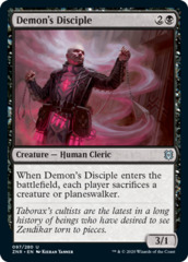 Demon's Disciple - Foil
