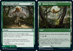 Khalni Ambush // Khalni Territory - Foil