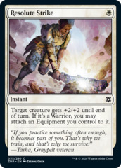 Resolute Strike - Foil