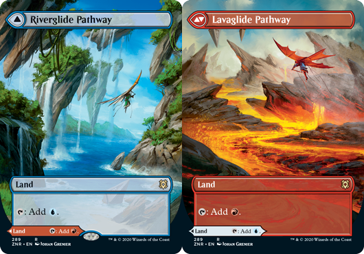 Riverglide Pathway // Lavaglide Pathway - Foil - Borderless