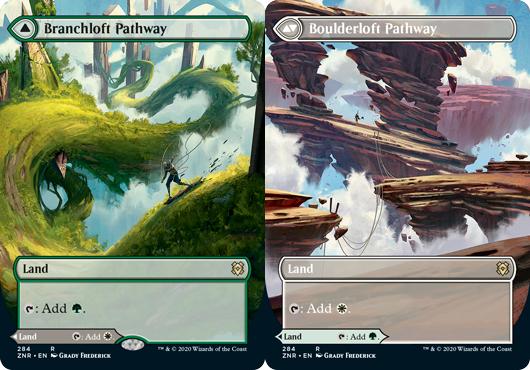 Branchloft Pathway // Boulderloft Pathway - Foil - Borderless