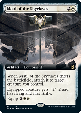 Maul of the Skyclaves - Extended Art