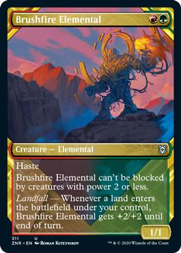 Brushfire Elemental - Showcase