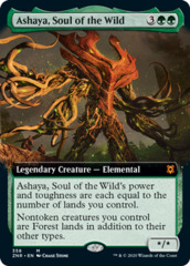 Ashaya, Soul of the Wild - Foil - Extended Art