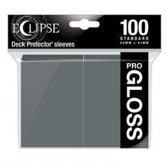 Ultra Pro - Standard Deck Protectors: Eclipse Pro-Gloss Smoke Grey 100 ct