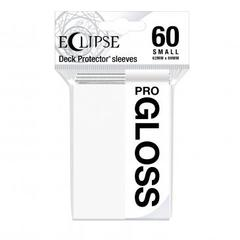 Ultra Pro - Small Deck Protectors: Eclipse Pro-Gloss Arctic White 60 ct