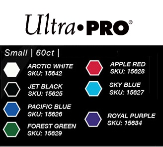 Ultra Pro - Small Deck Protectors: Eclipse Pro-Gloss Pacific Blue 60 ct