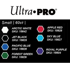 Ultra Pro - Small Deck Protectors: Eclipse Pro-Gloss Pacific Blue 60 ct