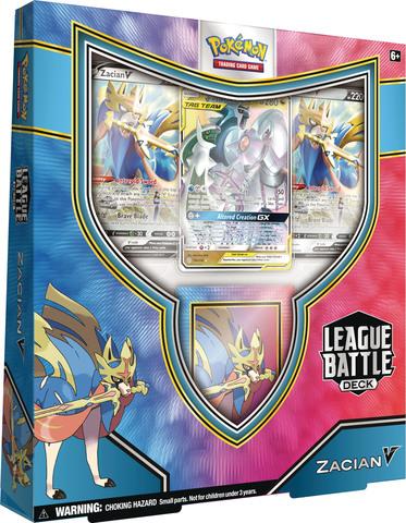 League Battle Decks - Zacian V