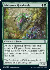 Iridescent Hornbeetle