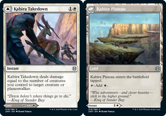 Kabira Takedown // Kabira Plateau - Foil