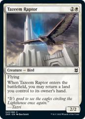 Tazeem Raptor - Foil