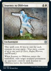 Journey to Oblivion