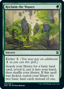 Reclaim the Wastes - Foil