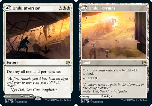 Ondu Inversion // Ondu Skyruins - Foil