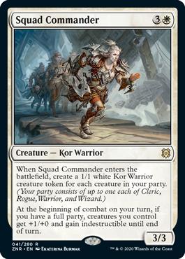 Squad Commander - Foil