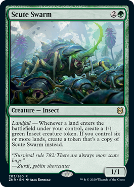 Scute Swarm - Foil