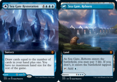 Sea Gate Restoration // Sea Gate, Reborn - Foil - Extended Art