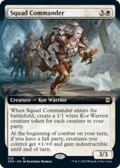 Squad Commander - Foil - Extended Art