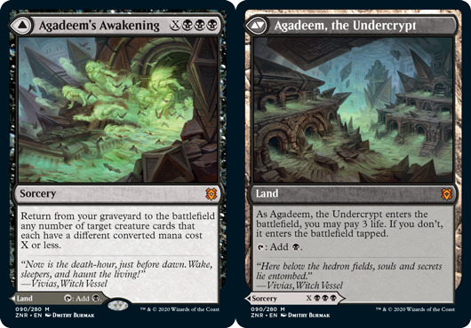Agadeems Awakening // Agadeem, the Undercrypt - Foil