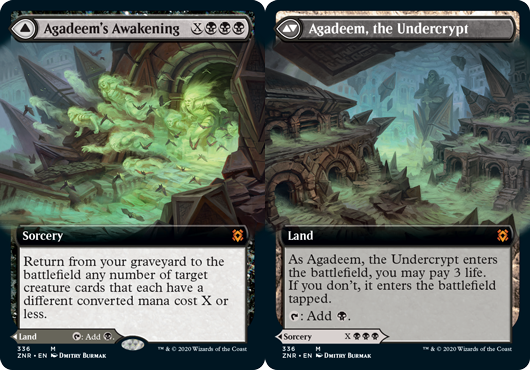 Agadeems Awakening // Agadeem, the Undercrypt - Extended Art