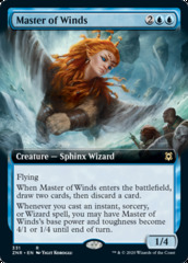 Master of Winds - Extended Art