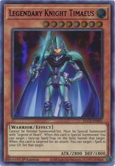 Legendary Knight Timaeus (Blue) - DLCS-EN001 - Ultra Rare - 1st Edition
