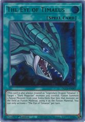 The Eye of Timaeus (Green) - DLCS-EN007 - Ultra Rare - 1st Edition
