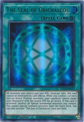 The Seal of Orichalcos (Green) - DLCS-EN137 - Ultra Rare - 1st Edition