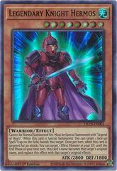 Legendary Knight Hermos (Green) - DLCS-EN003 - Ultra Rare - 1st Edition