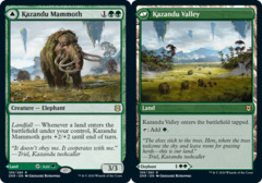 Kazandu Mammoth // Kazandu Valley - Foil