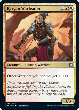 Kargan Warleader - Foil