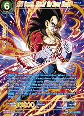 SS4 Vegeta, Rise of the Super Warrior - BT11-052 - SPR