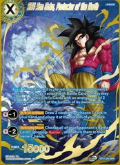 SS4 Son Goku, Protector of the Earth - BT11-034 - SPR