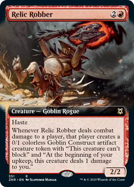 Relic Robber - Foil - Extended Art