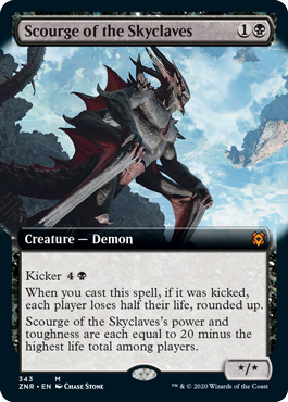 Scourge of the Skyclaves - Foil - Extended Art