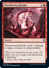 Thundering Rebuke