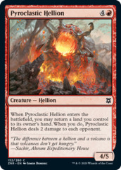 Pyroclastic Hellion - Foil