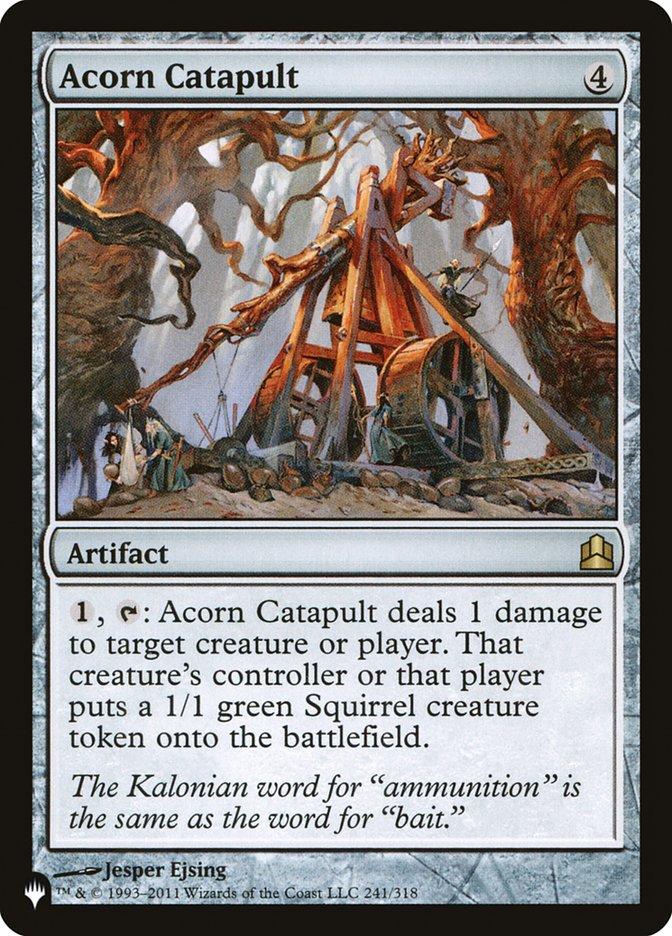 Acorn Catapult - The List