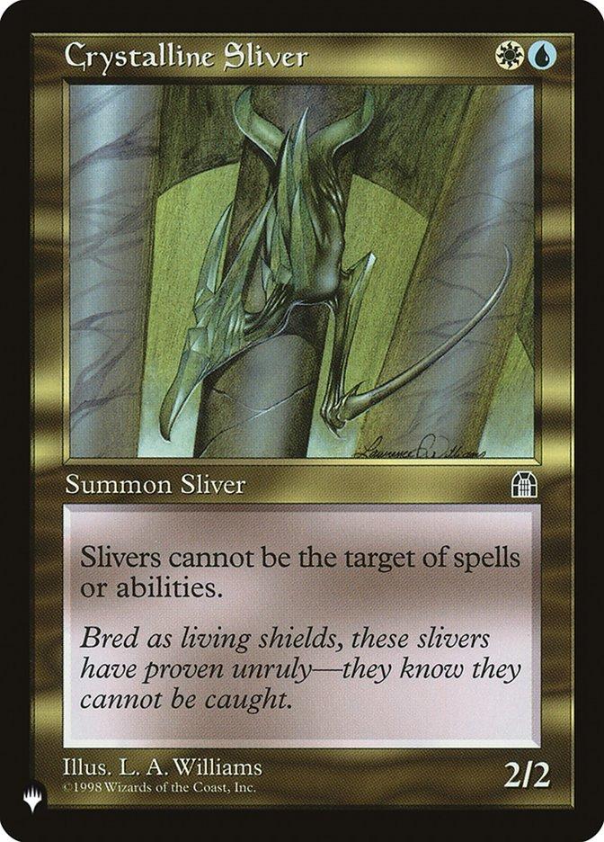 Crystalline Sliver - The List