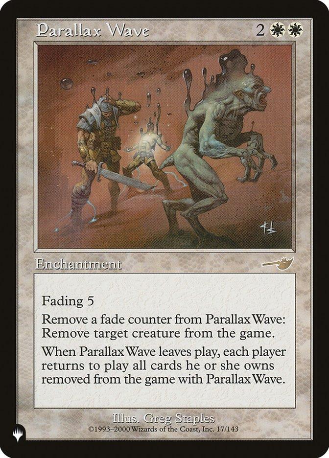 Parallax Wave - The List