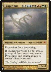 Progenitus - The List