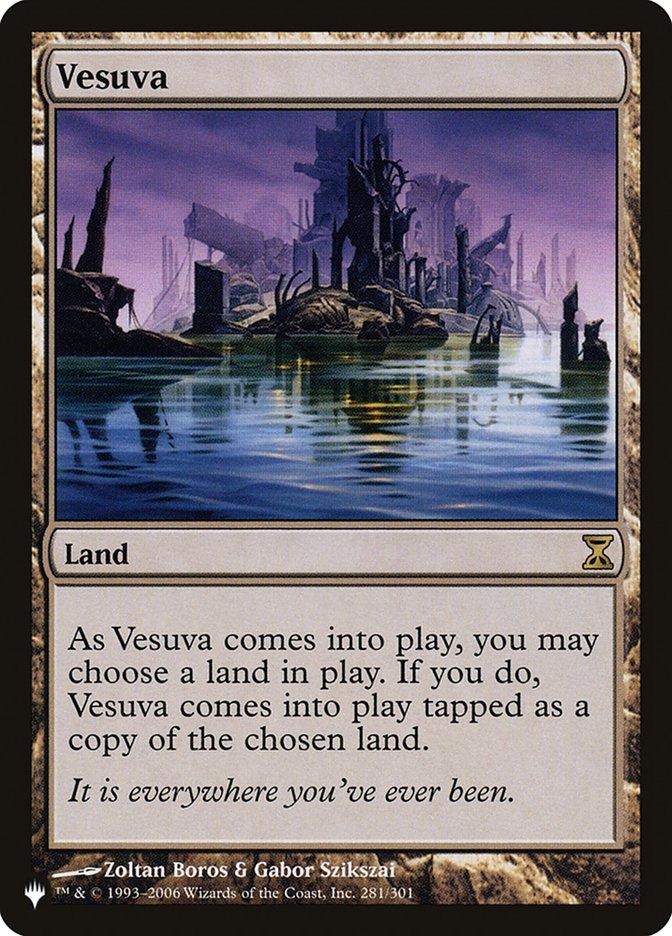 Vesuva - The List