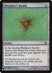 Wayfarer's Bauble - The List