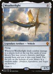 Weatherlight - The List