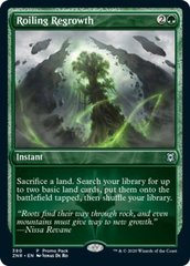 Roiling Regrowth - Foil - Dark Frame Promo